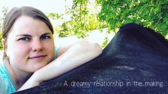 A dreamy horse relationship in the making. What does it take to build a relationship and connection with your horse